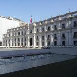 Palacio de La Moneda, Santiago,      Fotografía: Blas Tomic E., Fundación Imagen de Chile (FICH). - Con Copyright , Derechos Parciales CC: BY- NC-ND   Creative Commons -