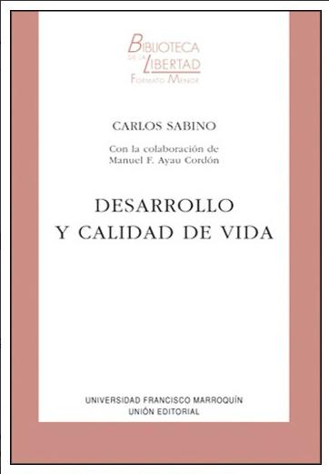 DESARROLLO Y CALIDAD DE VIDA