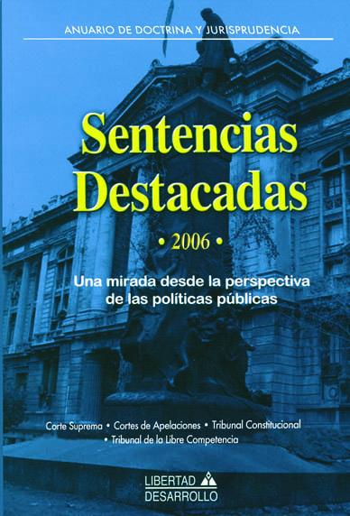 Sentencias Destacadas 2006