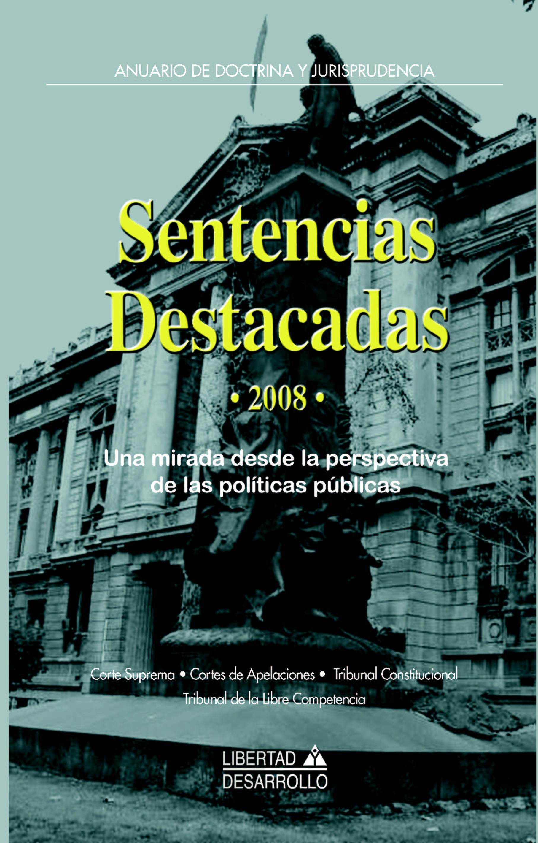 Sentencias Destacadas 2008