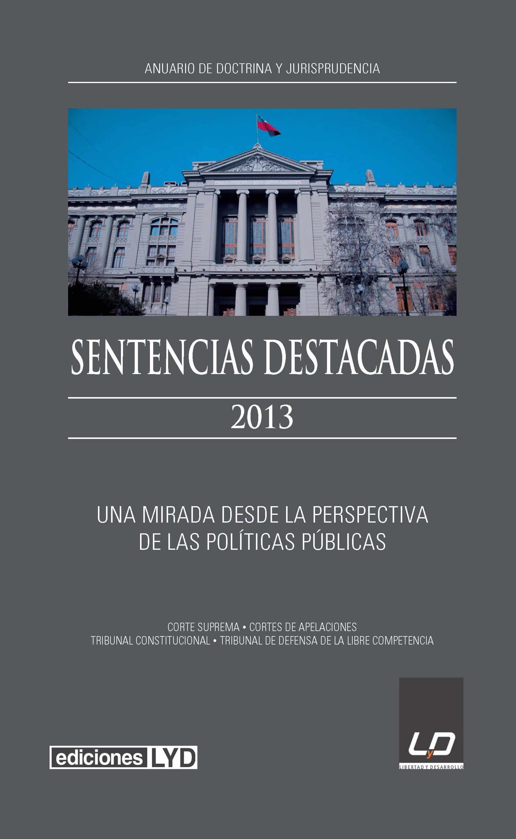 Sentencias Destacadas 2013