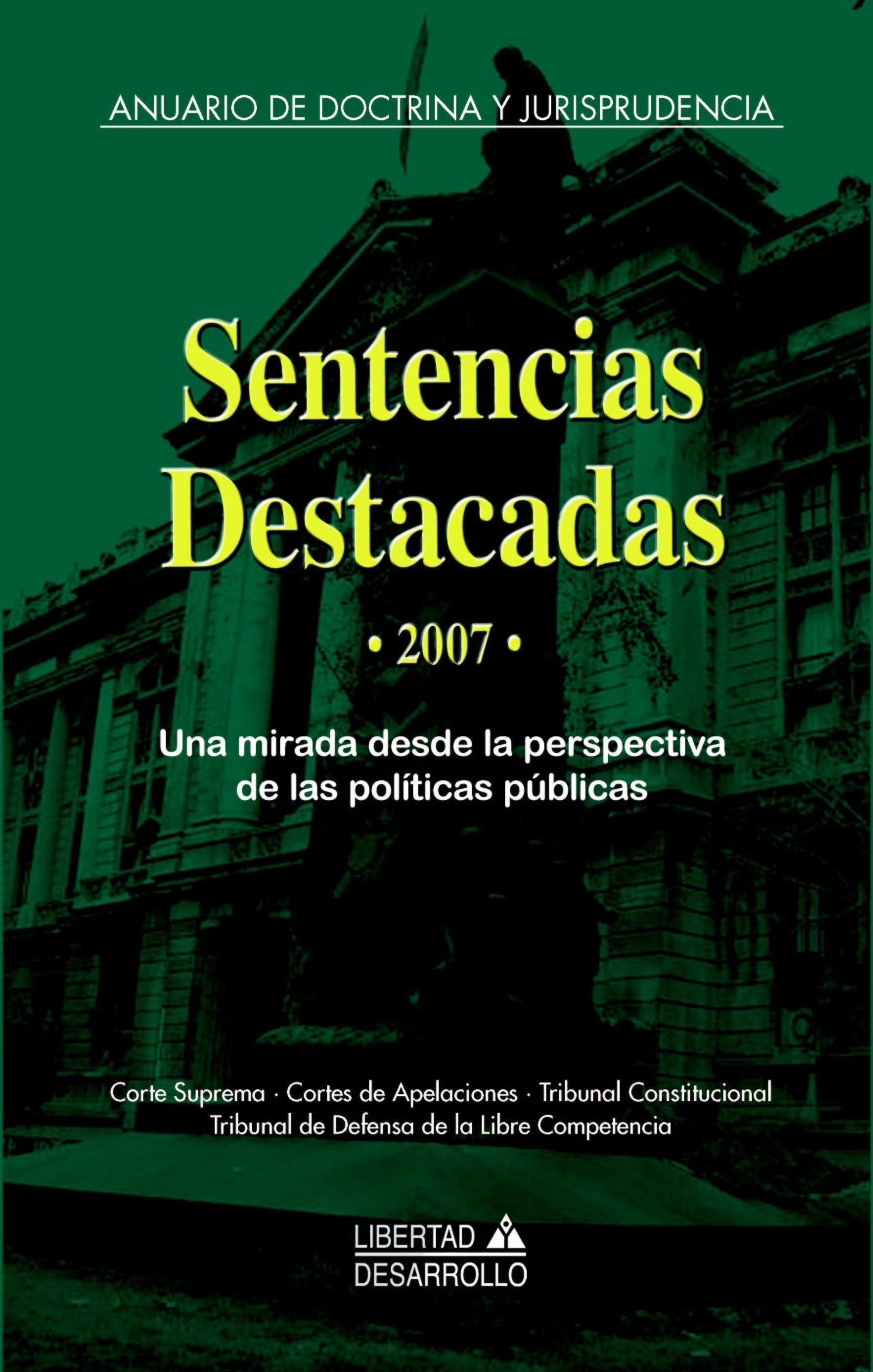 Sentencias destacadas 2007