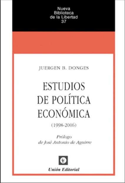 Estudios de política económica
